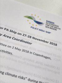 COMPLETE EU:n Itämeri-strategian puhtaan merenkulun politiikka-alan ohjausryhmän kokouksessa